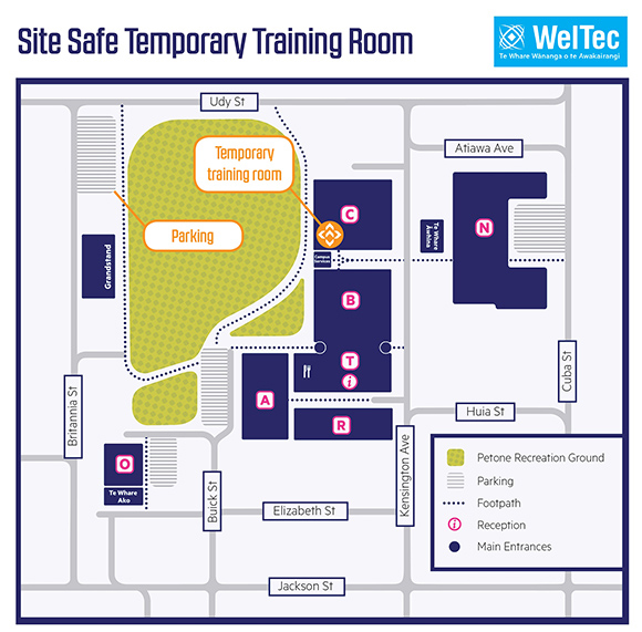 Weltec map