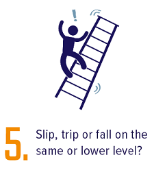 pic of point 5 ladder fall