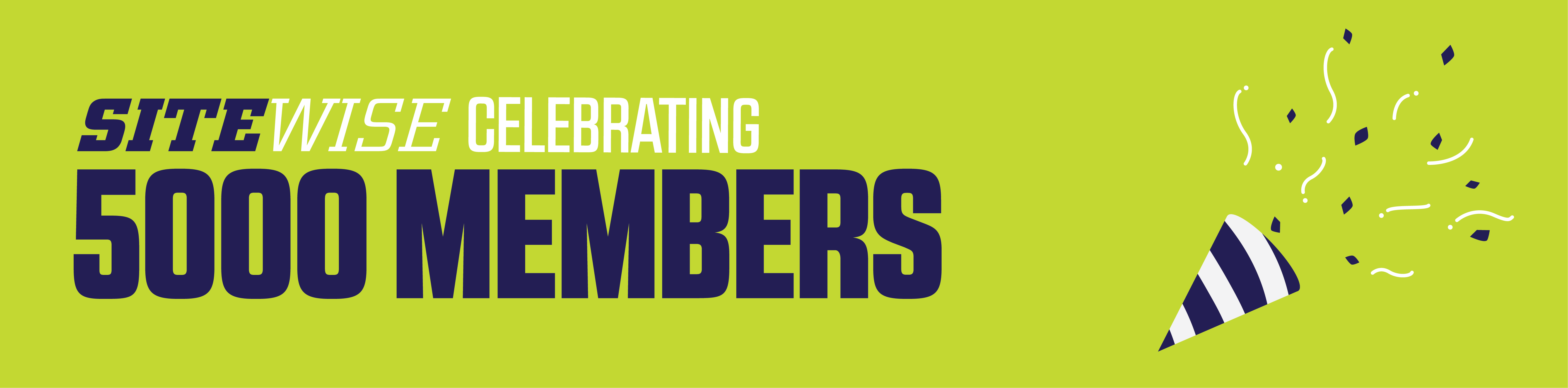 SiteWise celebrates 5000 members