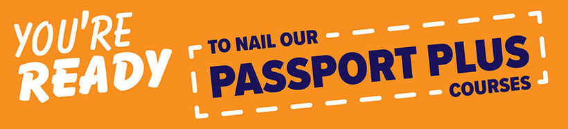 Passport plus banner